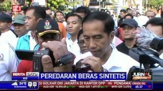 Tanggapan Jokowi Soal Beras Plastik