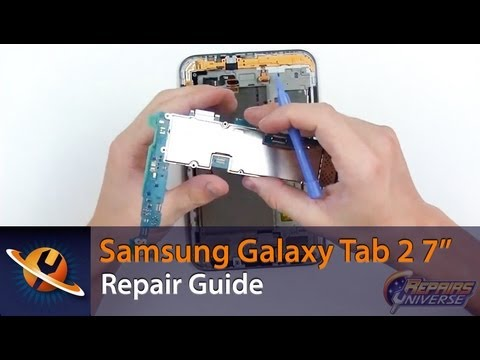 "Samsung Galaxy Tab 2 7"" Screen Replacement Repair Guide"