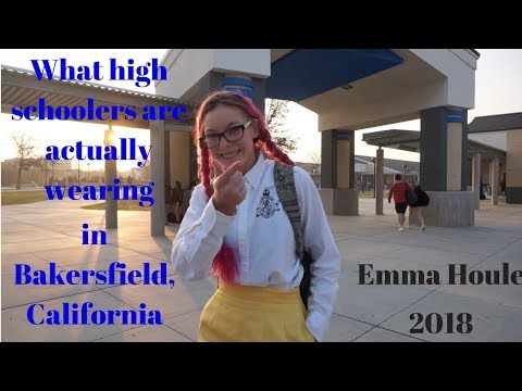 What High Schoolers Are ACTUALLY Wearing // Bakersfield, California