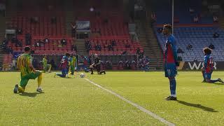 Vilfrid Zaha Prvi Igrač Koji Nije Klečao u Premijer Ligi   Crystal Palace vs WBA   SPORT KLUB FUDBAL
