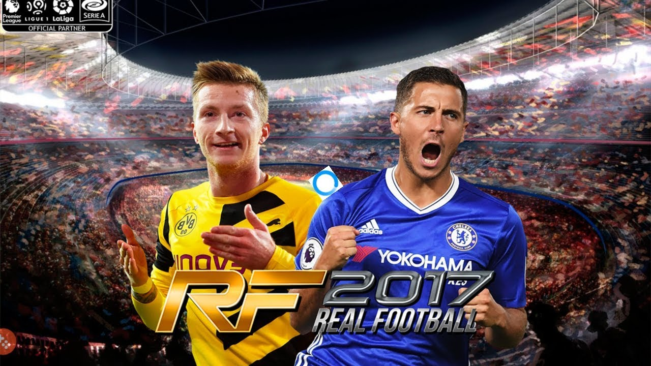 Real Football 2017 Patch Android 470 MB Apk+Data Offline  #Smartphone #Android