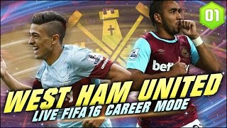 Fifa 16 West Ham Career Mode Ep12 Transfer Targets Acquired W
