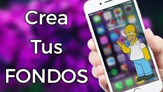Crea Tus FONDOS De Pantalla | iOS & Android App | ZIDACO