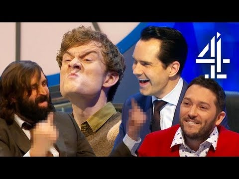 Joe Wilkinson's REALLY Bad Idea for Numbers Round!  8 Out of 10 Cats Does Countdown Best Bits Pt. 8