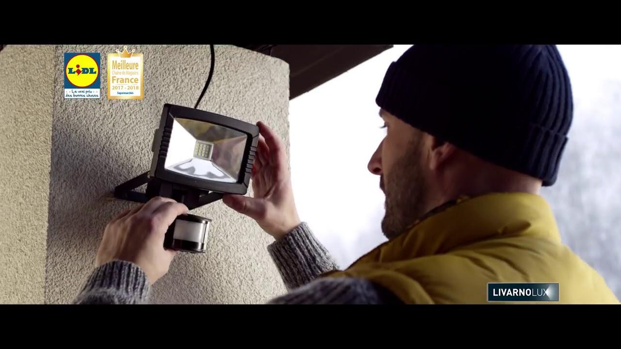 Lidl Livarno Lux Projecteur à Led Youtube