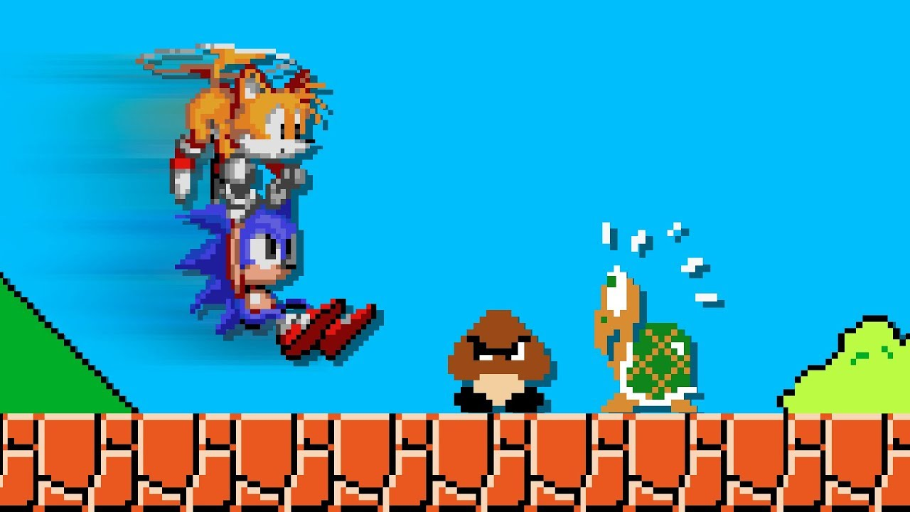 One Way Sonic could EASILY complete Mario Level 1-1