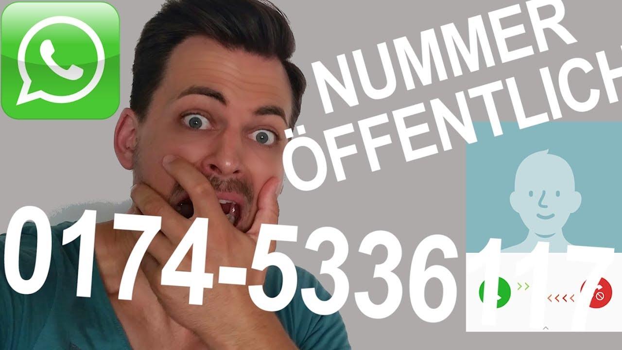 Meine Handynummer