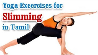 learn yoga for slimming in tamil  youtube