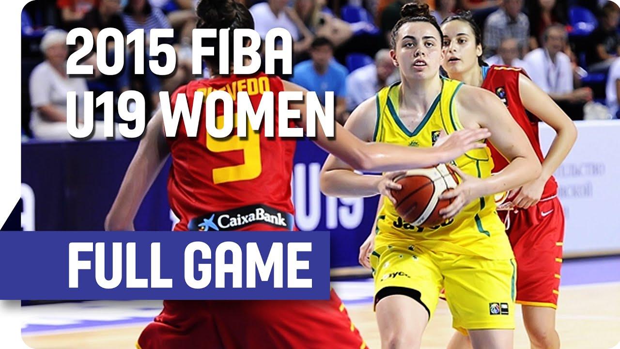 Australia v Spain - 3rd Place Full Game