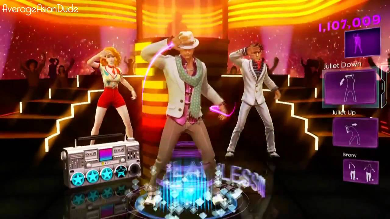 Dance Central 3 Disco Inferno Hard 100% 5 Gold Stars - YouTube