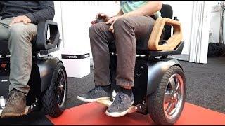 Weltneuheit Elektro Rollstuhl