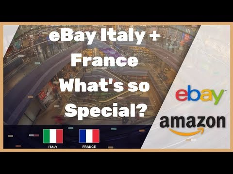 Selling On Ebay Italy And Ebay France What Is So Special In These Marketplaces Full Comparison Youtube