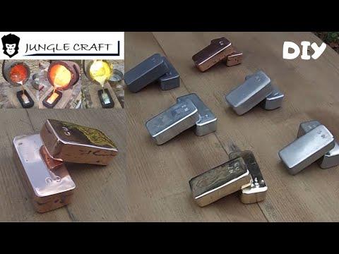 Fabrication lingots coulés. Cuivre Plomb Laiton Etain Zinc Aluminium. Casting metal foundry.