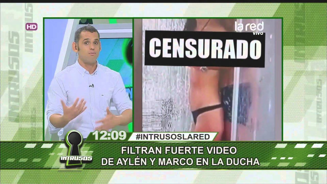 Filtran video prohibido de Aylén y Marco en \