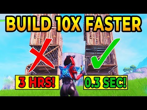 How To Be A Pro Builder 10x Faster In Fortnite Battle Royale (Best Fast Build Guide) Win More Tips