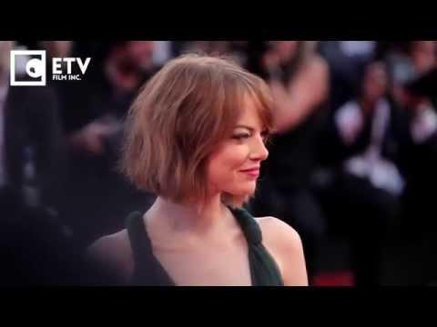 Emma Stone Red Carpet premiere of Birdman (2014 Venice Film Festival)