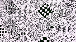 zentangle patterns easy diy karthika loves