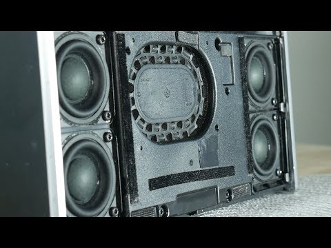 Bose SoundLink speaker bass excursion test without grill