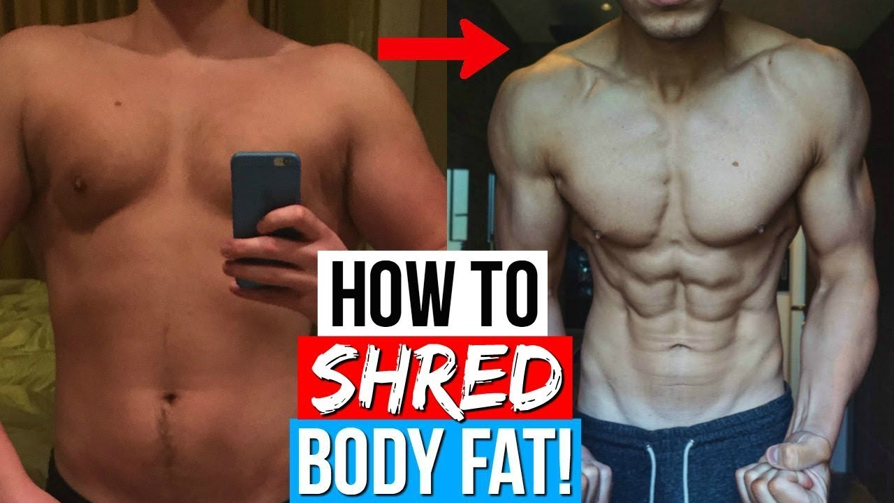 Fat cut body to fast from how