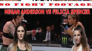 UFC ROCHESTER: MEGAN ANDERSON VS FELICIA SPENCER POST FIGHT CHOKEOUT REACTION!