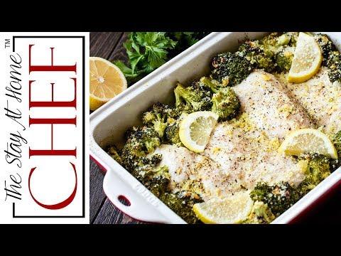 Lemon Garlic Chicken And Broccoli Bake