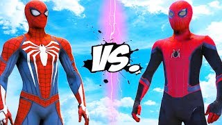 SPIDER-MAN (FAR FROM HOME) VS SPIDERMAN (PS4)