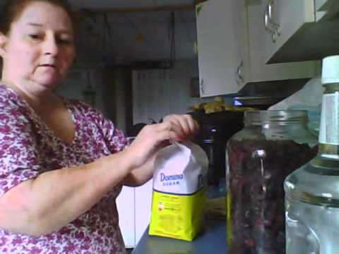 Making Blackberry Brandy - YouTube