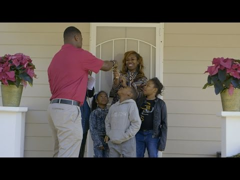 Warrick Dunn: Home is a place to honor his mother