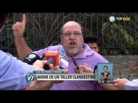 Visión 7 - CABA: Morir En Un Taller Clandestino