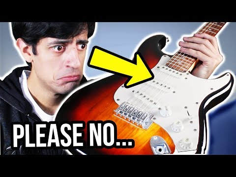 I play a GUITAR... (ILLEGAL VIDEO)