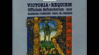 """Victoria: """"Taedet animam meam vitae meae"""" (Gabrieli Consort)"""