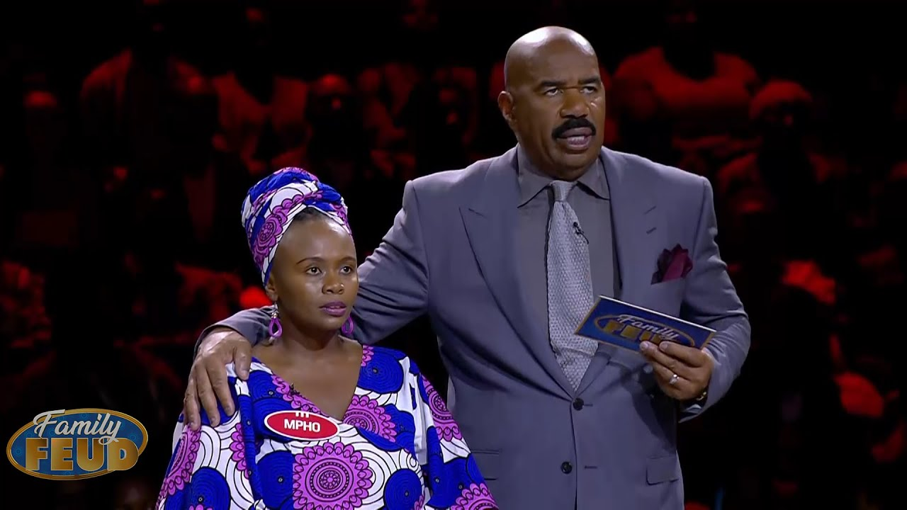 FAST MONEY TIME!! Does that mean BIG MONEY too?? You have to BE QUICK!! | Family Feud South Africa