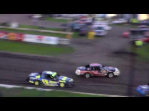 USRA Stock Car Heat 2 @ Hamilton County Speedway 08/23/17
