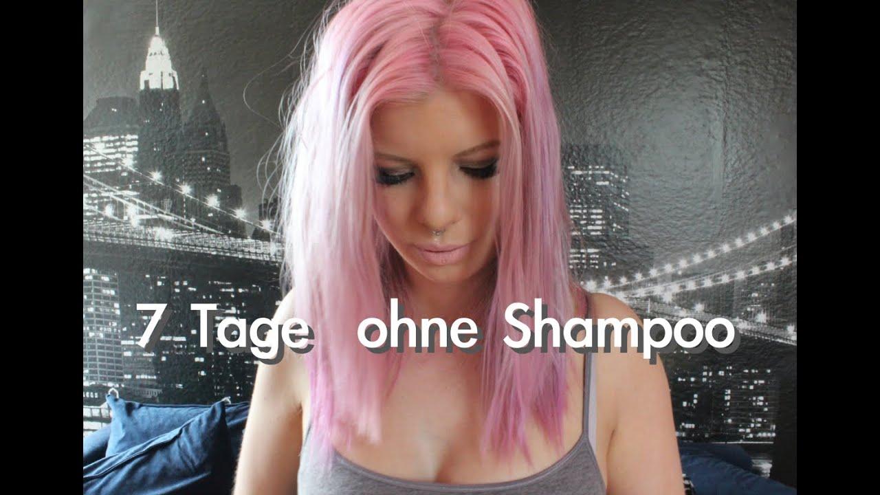 Haare waschen ohne shampoo wie oft