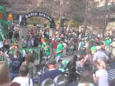 St Patrick's Day Parade Eureka Springs Arkansas 2013