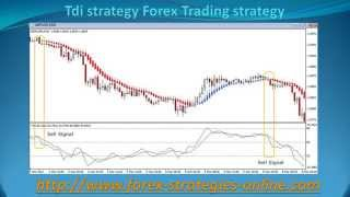 TDI strategy Forex Trading strategy