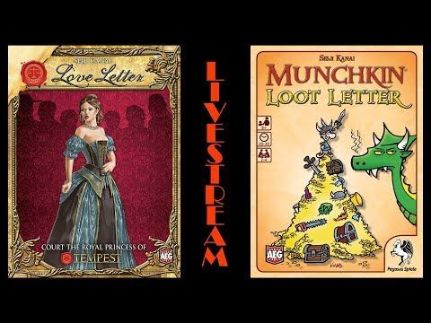 Fun With Geeks Live | Love Letter & Loot Letter (Julcsi, Kaci, Csirke)