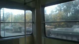 Video Evidence of Russian Invasion: Amateur footage appears to show Russian army deep inside Ukraine(Is this the smoking gun the world has been waiting for? A video recording made by a trolleybus passenger shows a huge column of Russian tanks, fuel trucks ..., 2014-09-03T10:18:05.000Z)