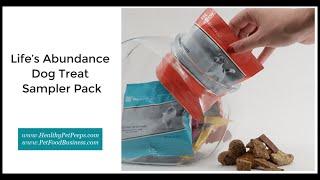 Life's Abundance Dog Treat Sampler Pack 🐶🐾