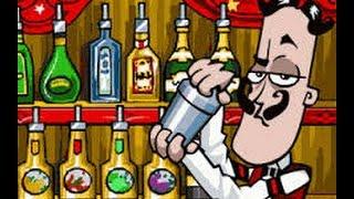 [ Review ] Game Pha Rượu Cocktail Cực Kì Vui Nhộn . Play Bartender   Y8.com