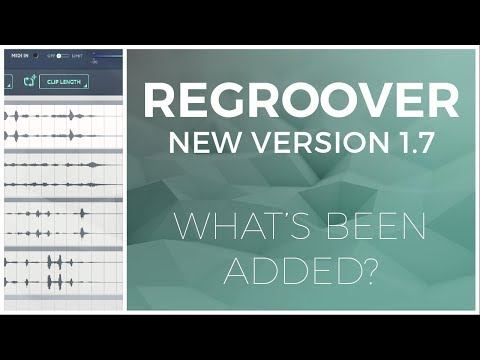 Regroover 1.7 Update Overview