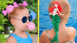 छोटी लड़कियों के लिए 13 सुंदर बालो के आईडिया
