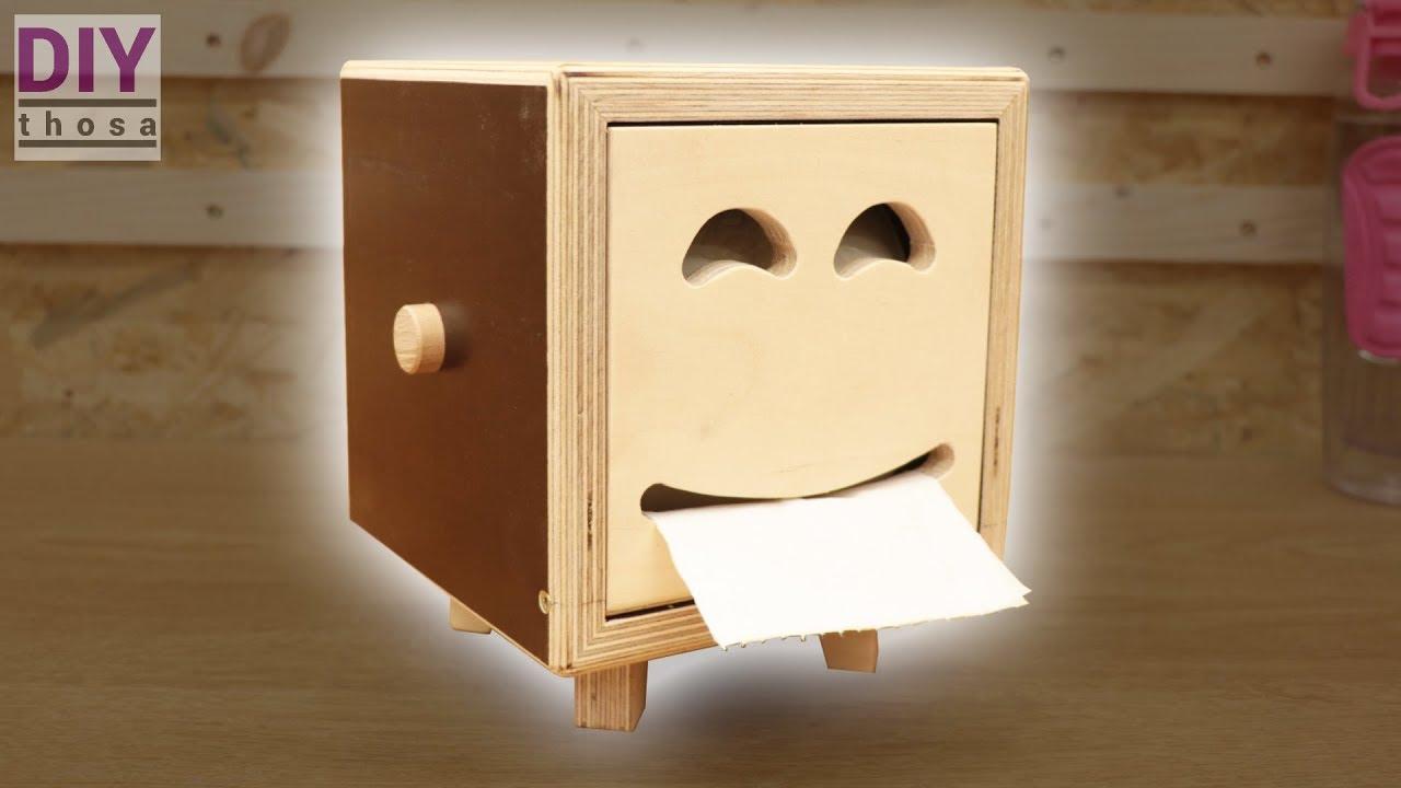 Nice Toilet Paper Holder Smiley Box