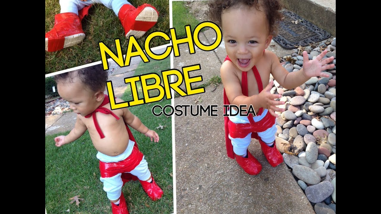 diy nacho libre costume halloween costume idea for children and toddlers youtube - Simple Toddler Halloween Costumes
