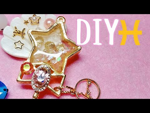 [Resin Art] PISCES DIY! ♓ Star Twinkle Precure Pisces Resin Shaker Wand 🌟🐠| Watch me Resin
