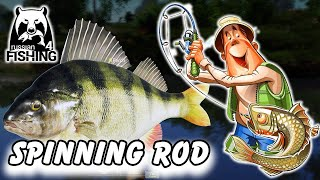 Russian Fishing 4 - Trying Spinning Rod and Lures