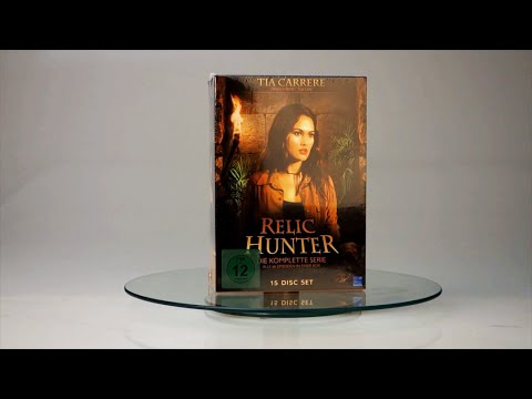 Unboxing Relic Hunter Complete Series Dvd Box Youtube