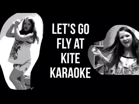 """Let's Go Fly a Kite""(Karaoke Version)- VS MVC ""black and white"""
