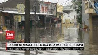 Banjir Rendam Beberapa Perumahan di Bekasi