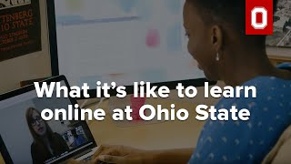 What it's like to learn online at Ohio State
